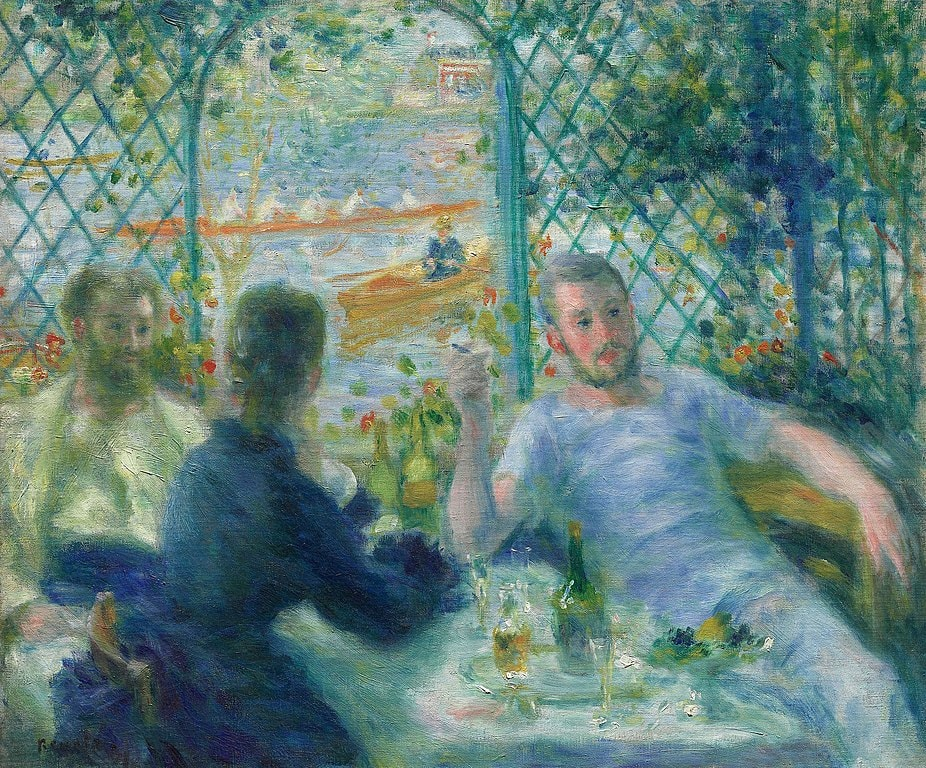 Pierre-Auguste Renoir - Lunch at the Restaurant Fournaise