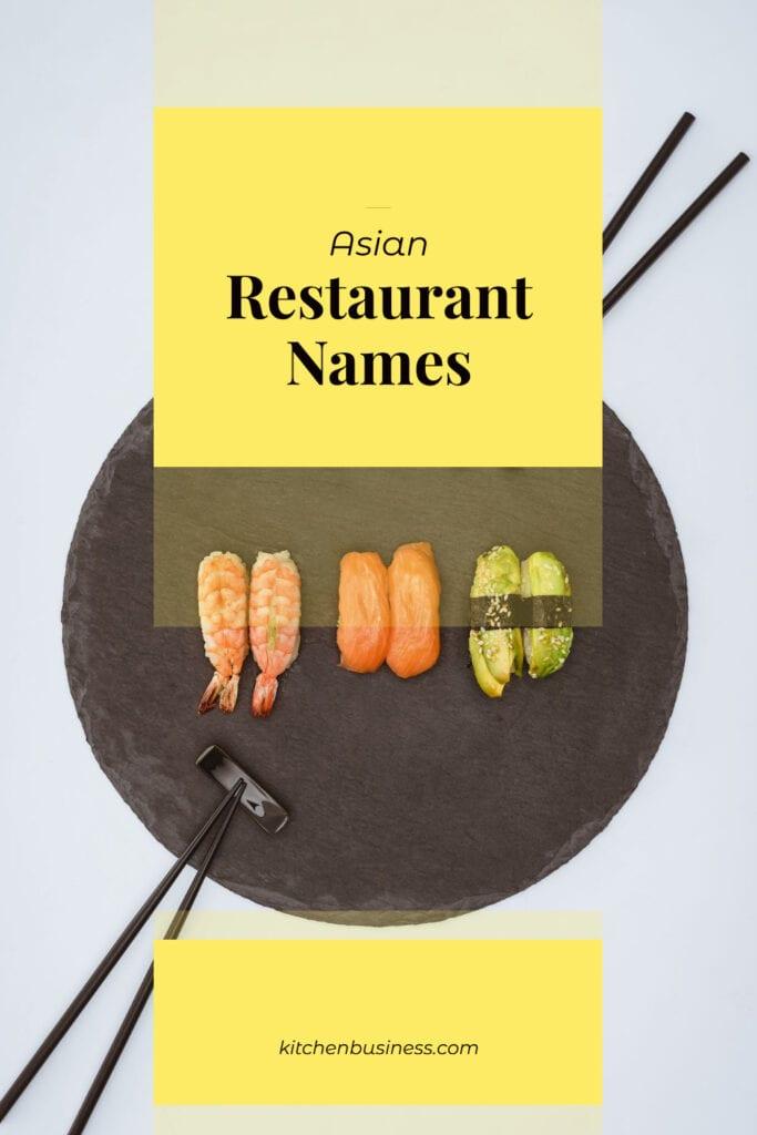 Asian Restaurant Names