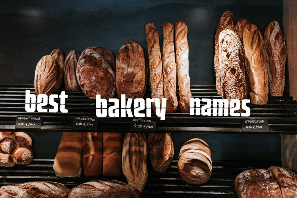 best bakery names