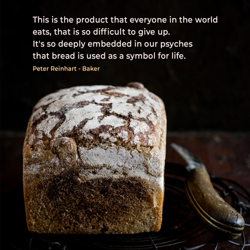 Bakery quote by baker Peter Reinhart