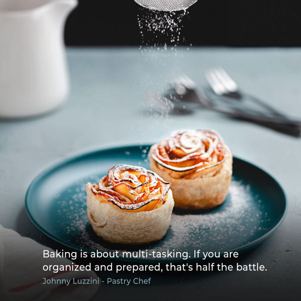 Pastry chef quote by Johnny Luzzini