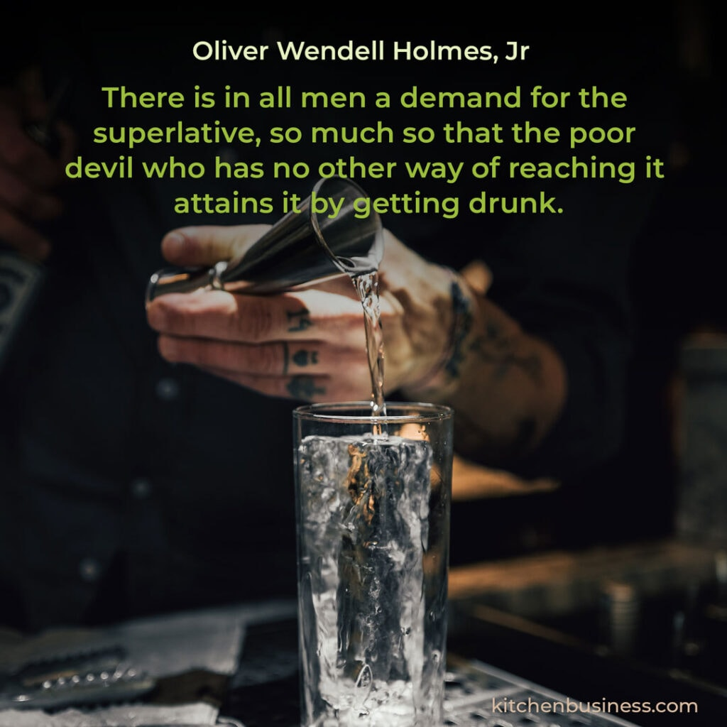 Bar quote by Oliver Wendell Holmes Jr.