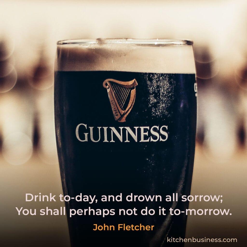 Bar quote by John  Fletcher