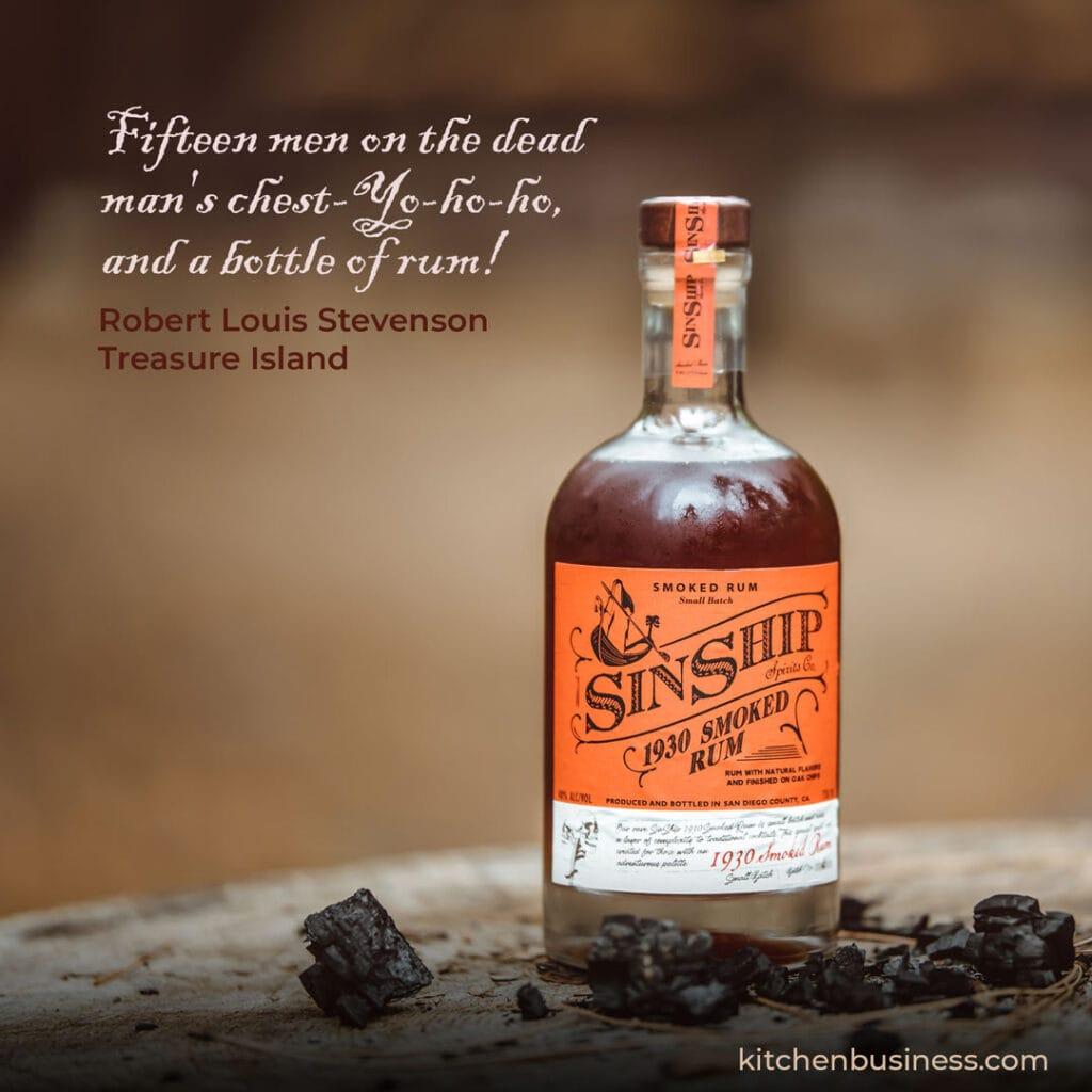 Bar quote by Robert Louis Stevenson