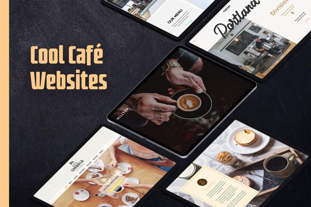 Best cafe websites