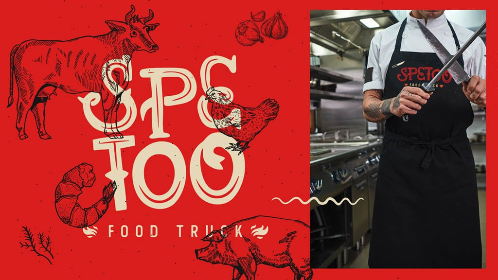 Logo for Spetoo Food Truck