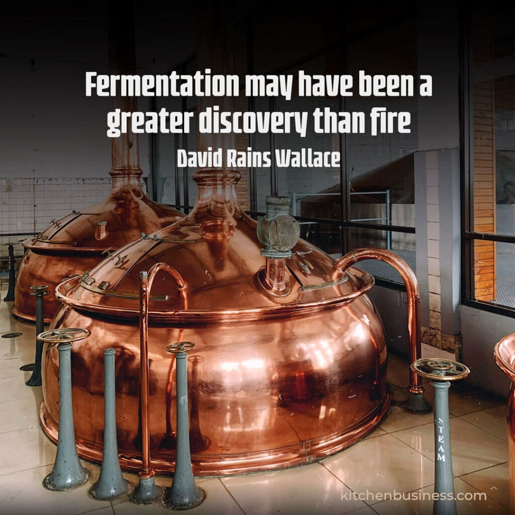 Beer and brewery quote by David Rains Wallace