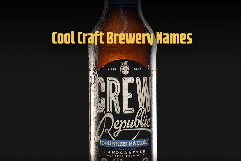 Cool Craft Brewery Names