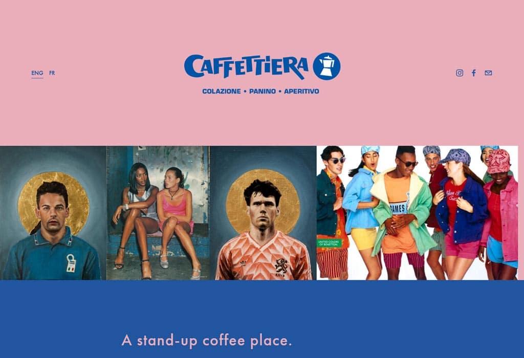 Website image of Caffeteria