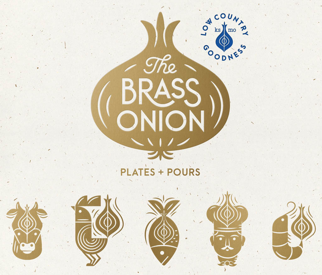 The Brass Onion Restaurant - Logo by Carpenter Collective