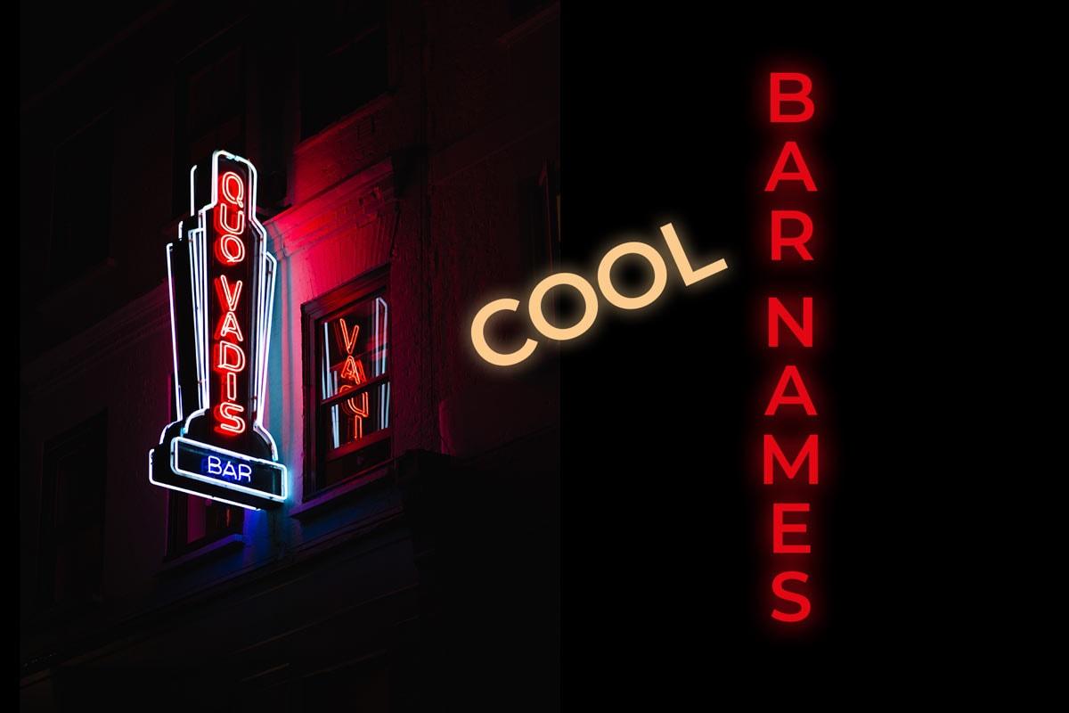 Cool Bar Names