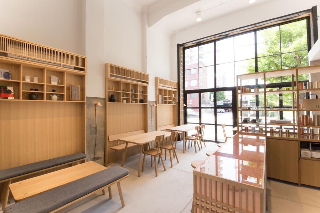 Kaikado Café - Design by OEO Studio