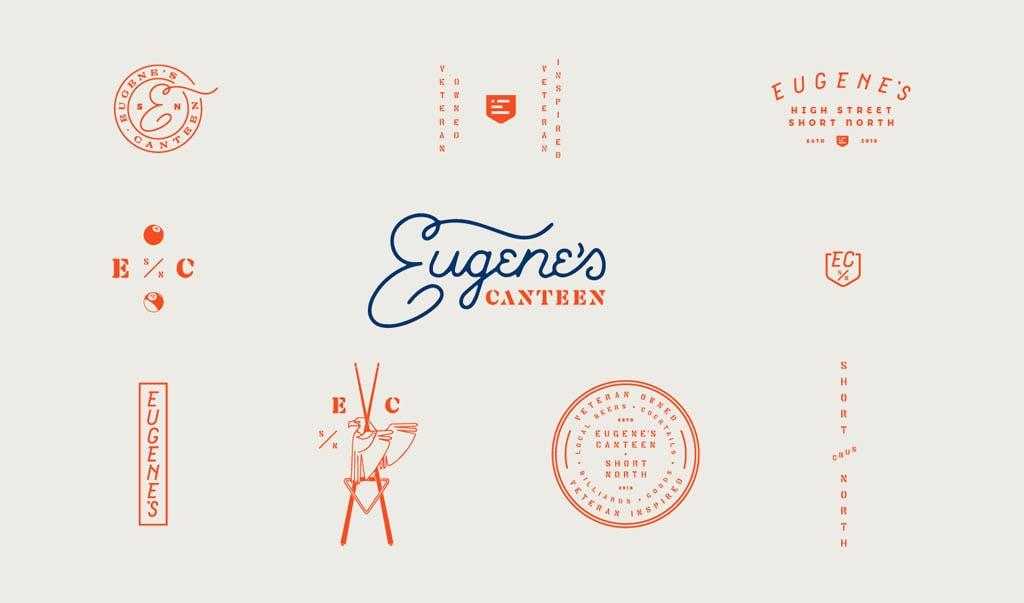 Eugenes Canteen - Logo Design by Piink iink Studio