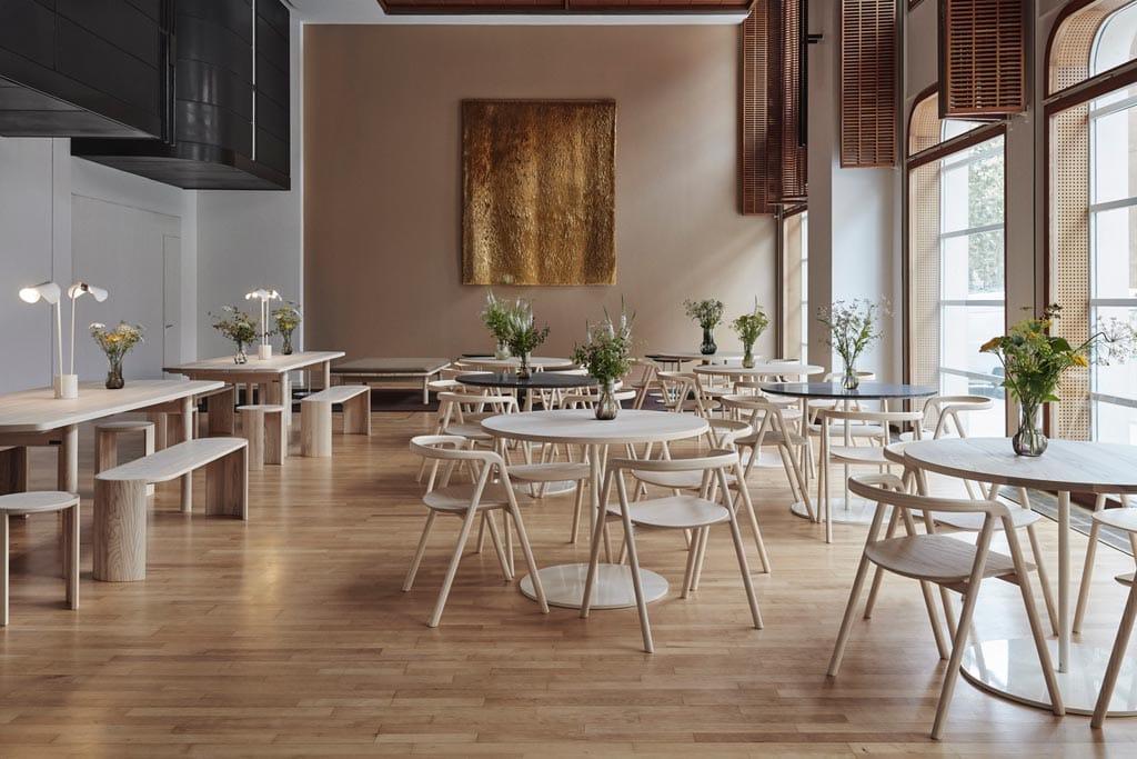 Cafe Coutume by Studio Joanna Laajisto