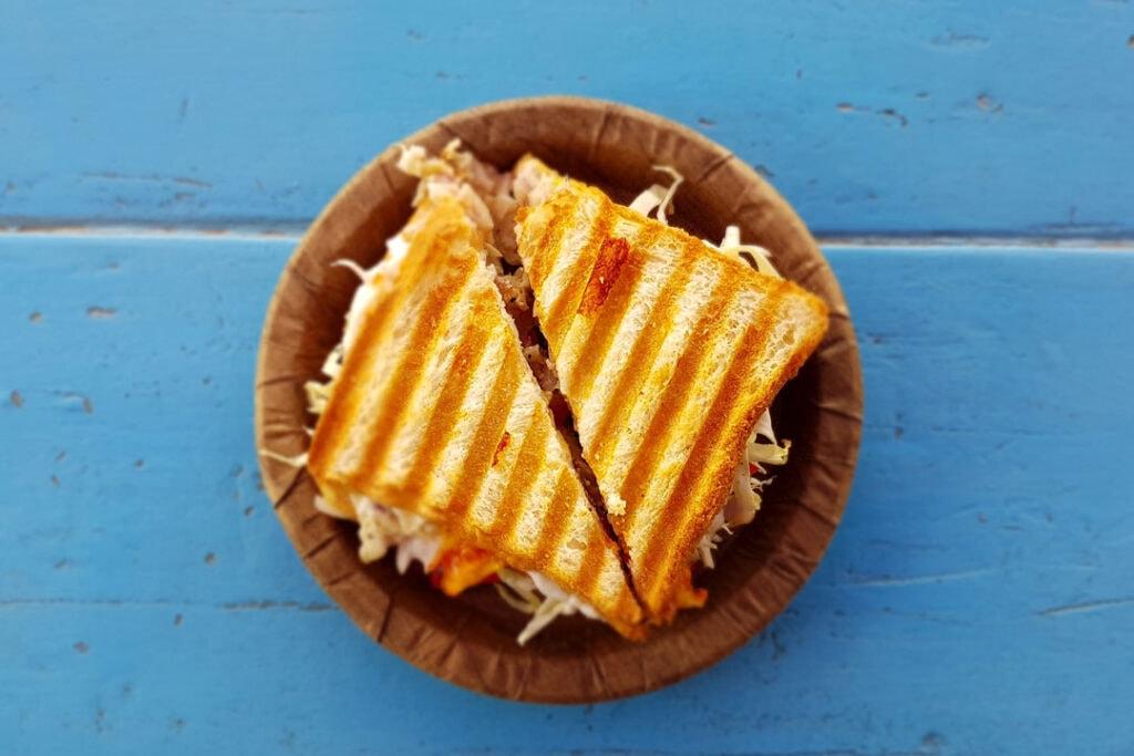 Food truck menus - grilled cheese sandwich