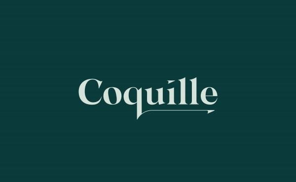 Coquille restaurant logo
