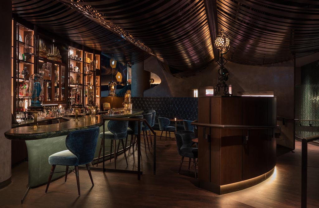 Deep Dive Cocktail lounge by Price Erickson
