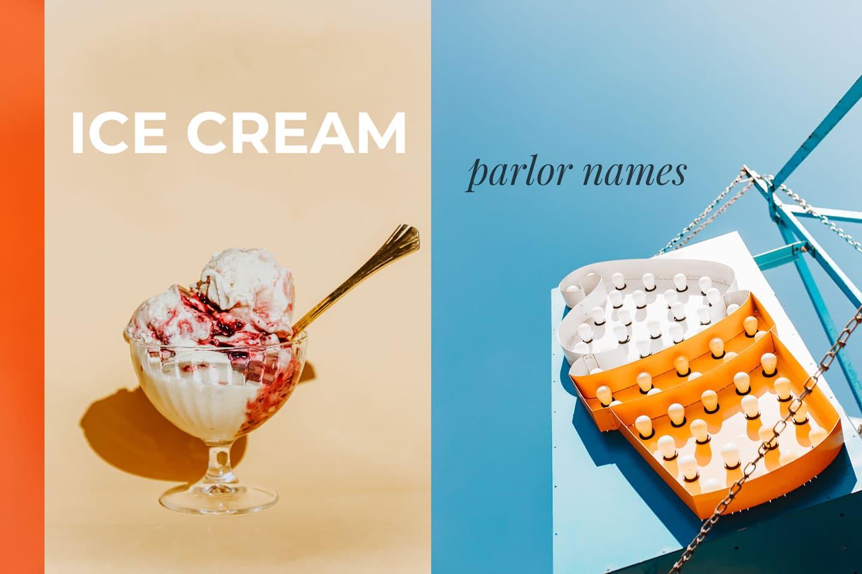 Ice Cream Parlor Names