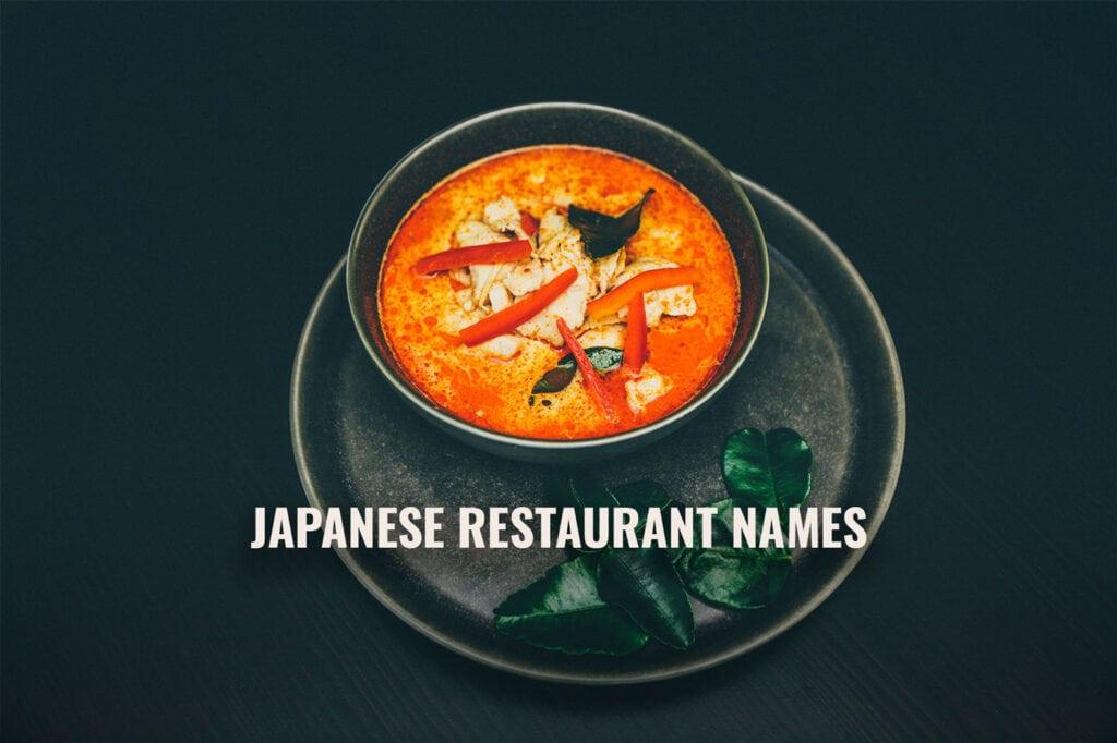 Japanese Restaurant Names