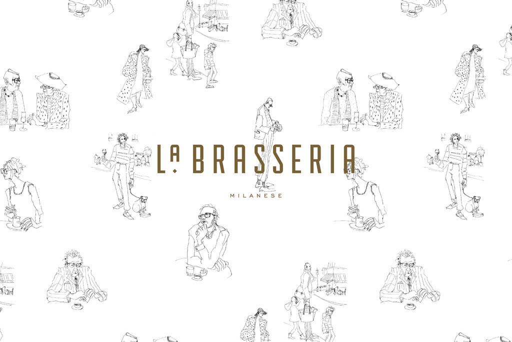 La Brasseria Milanese - logo by Land of Plenty