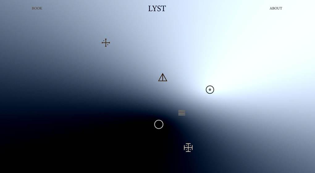 websiteof Lyst - a restaurant in Vejle, Denmark