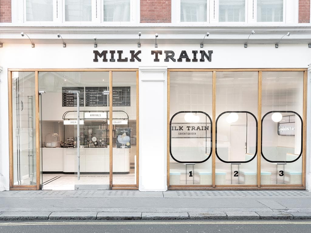 Milk Train Cafe - Interior Design by FormRoom
