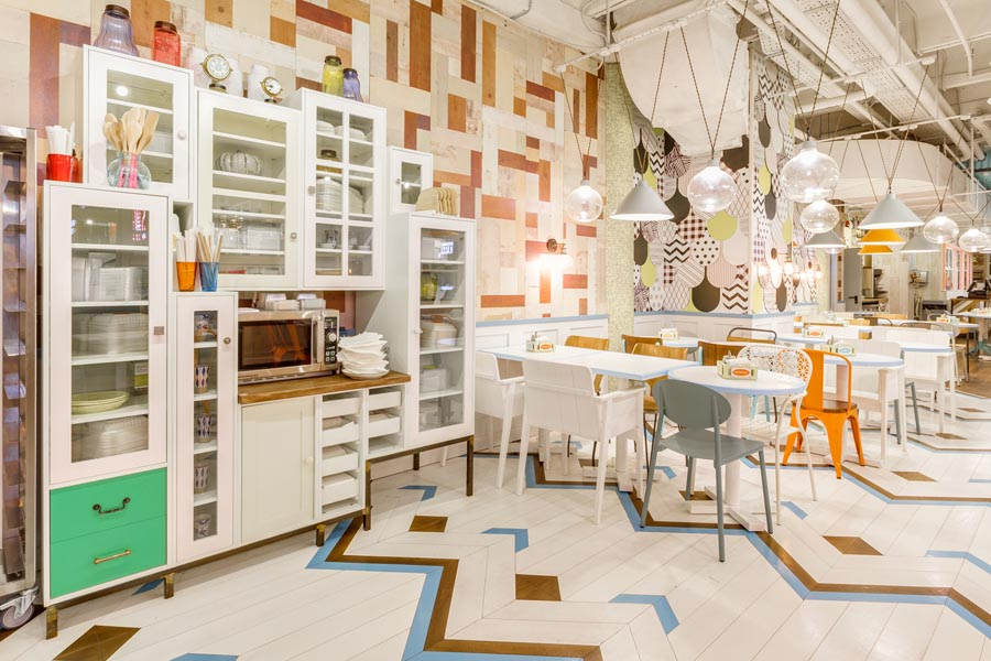 Restaurant design - Obed Bufet by Asthetique Russia