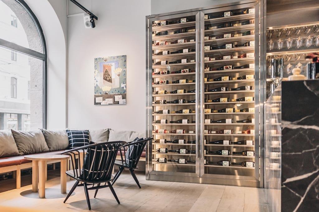 Sushibar + Wine - interior design by Studio Joanna Laajisto
