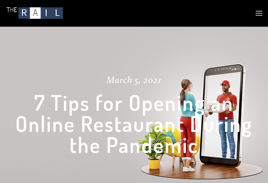 Screenshot 7 Tips for Opening an Online Restaurant During the Pandemic