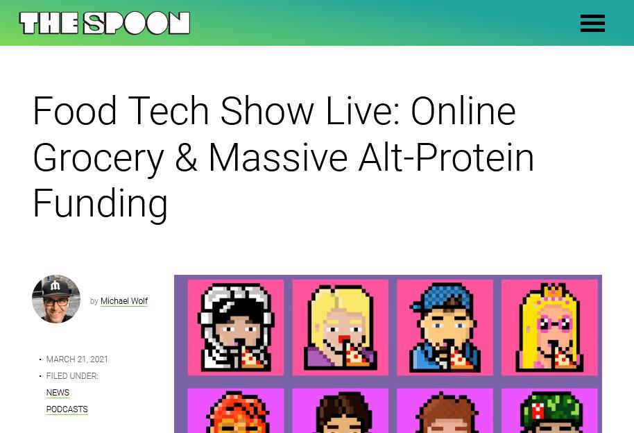 Screenshot Food Tech Show Live Online Grocery Massive Alt-Protein Funding