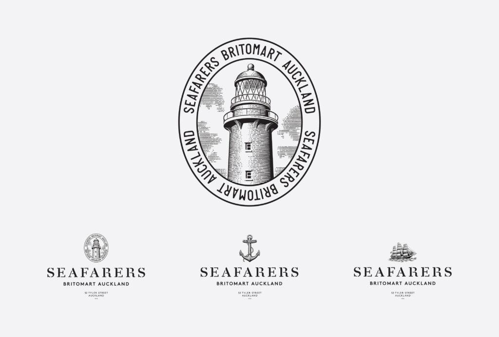 Seafarers Ostro restaurant logo