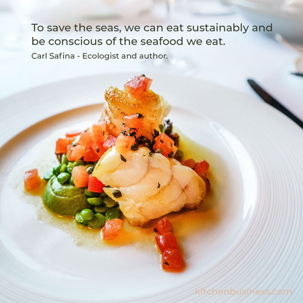 Seafood quote by Carl Safina