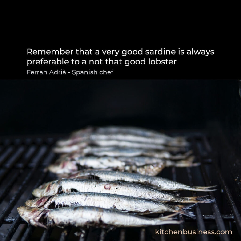 Seafood quote by Ferran Adria - Spanish Chef