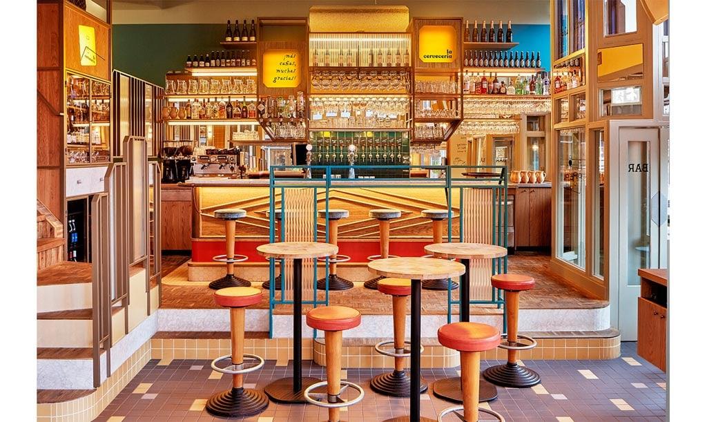 La Cervecería - interior design by Studio Modijefsky