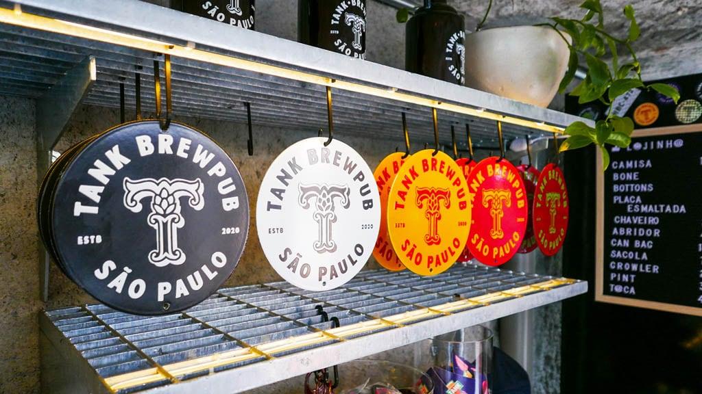 Tank Brew Pub - Logo by Papanapa