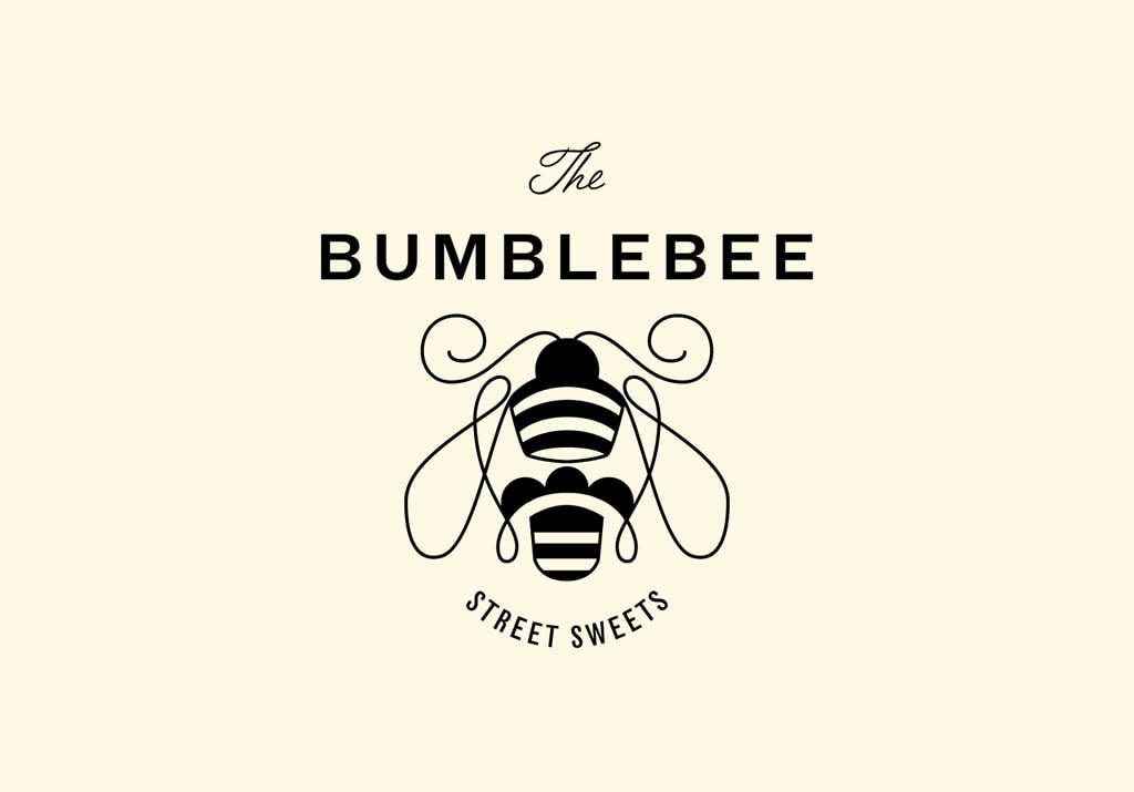 Logo for The Bumblebee Food Truck