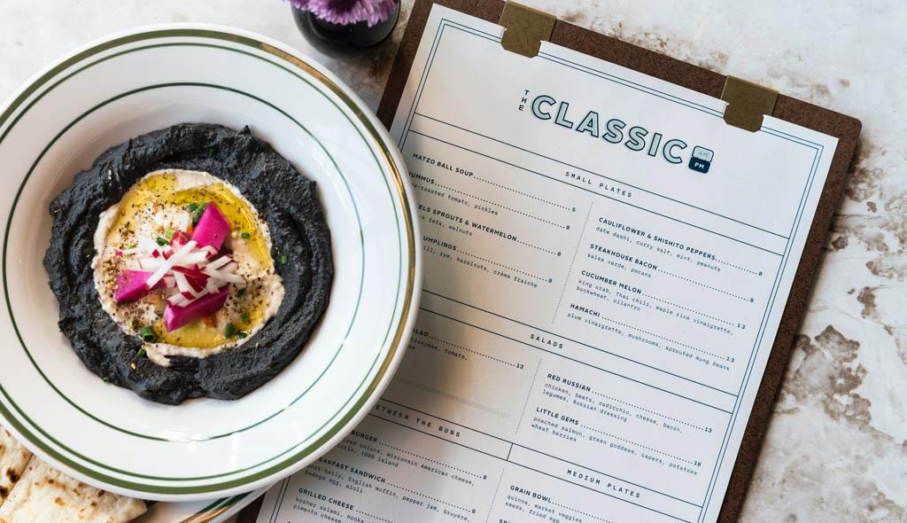 The Classic Restaurant - Menu Design by Principle