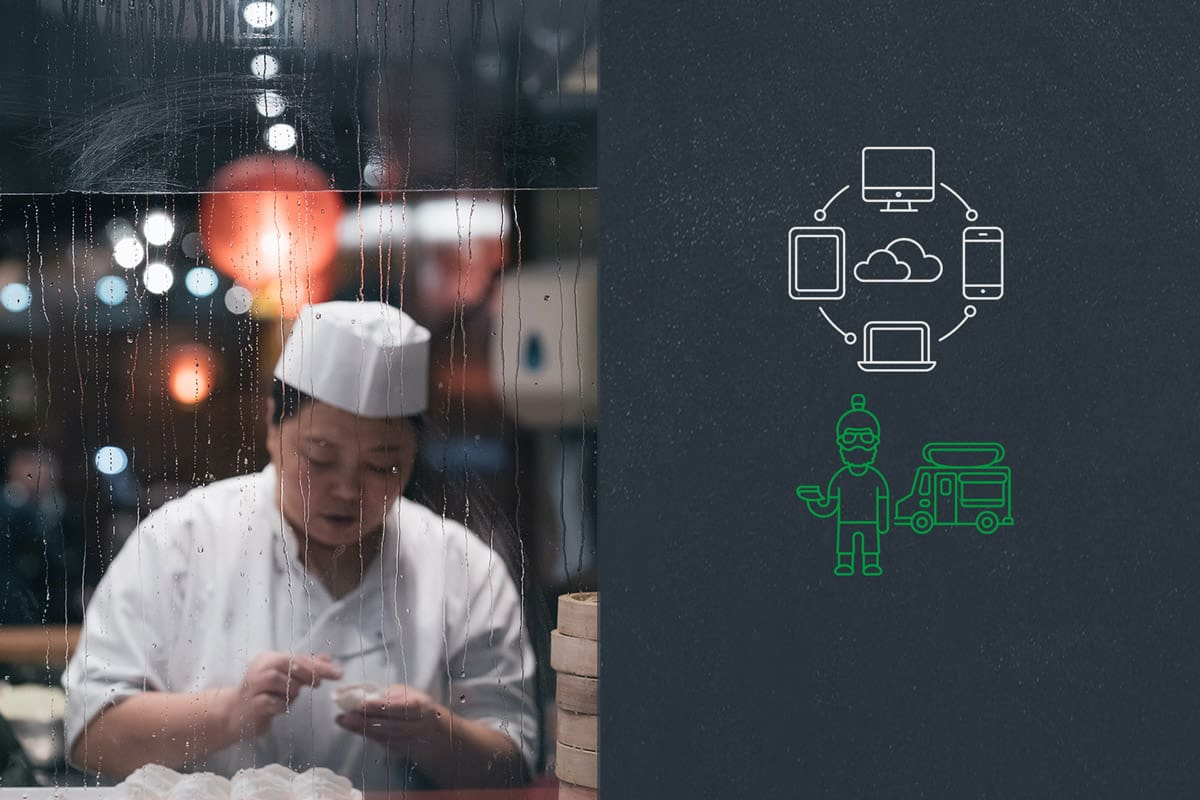 Virtual restaurants and cloud kitchens