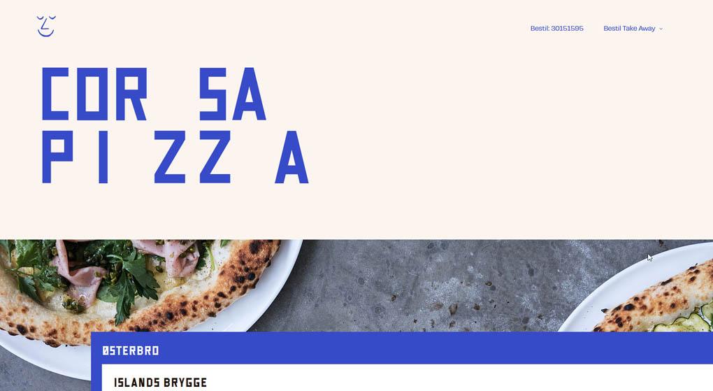 Corza Pizza in Copenhagen