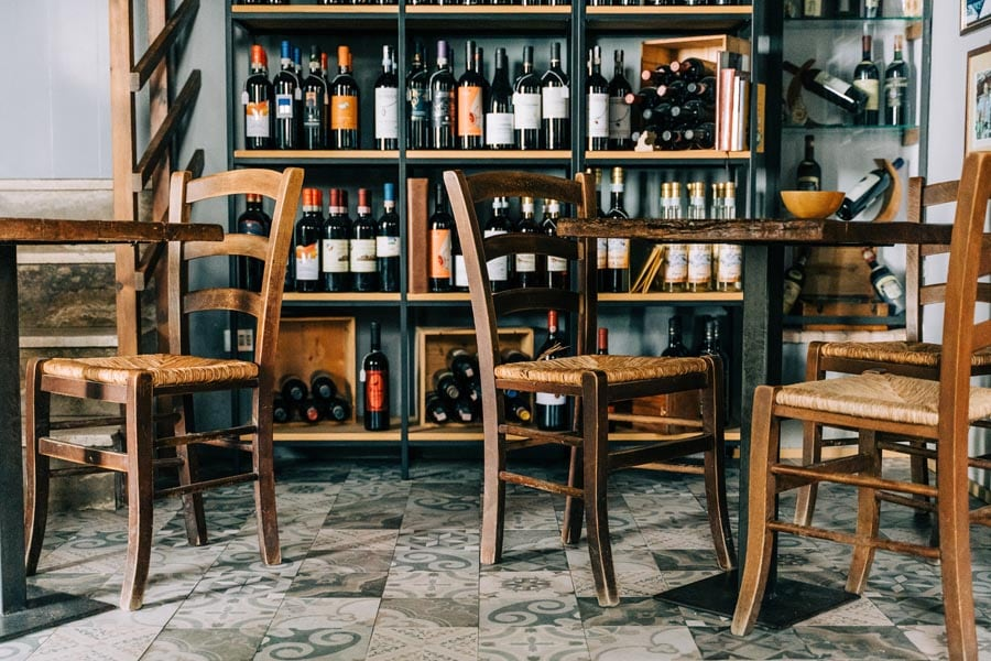 Italy Wine bar enoteca
