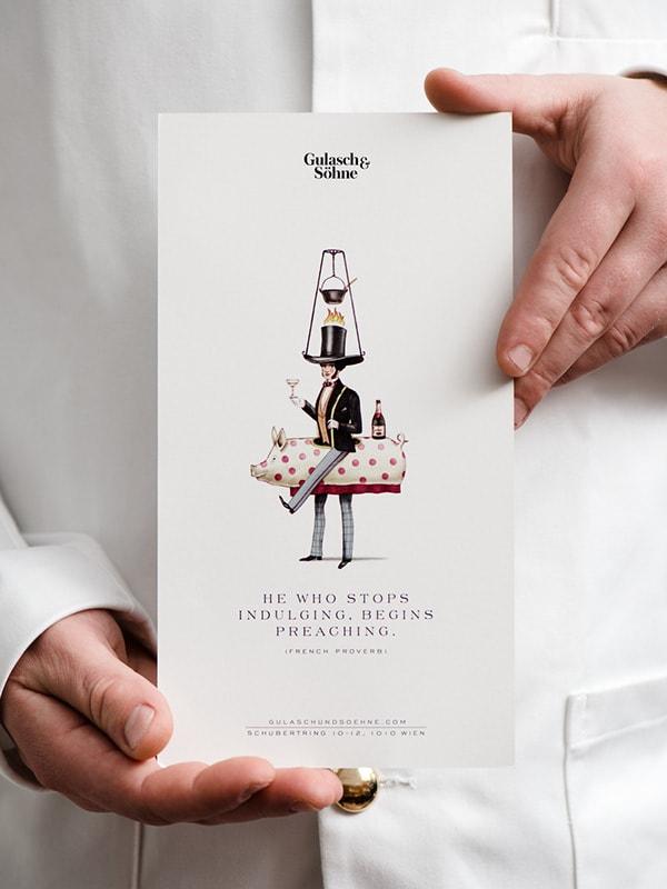 Gulasch & Söhne - Menu by Moodley Design