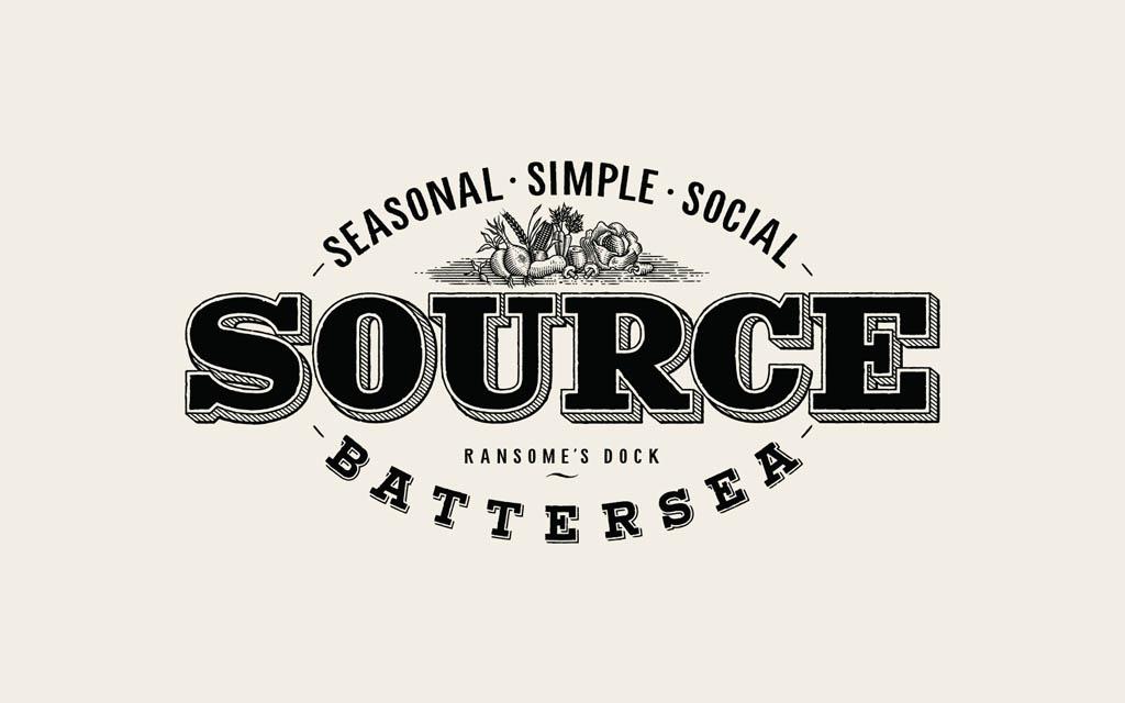 Source Restaurant - Logo by Tom Lane