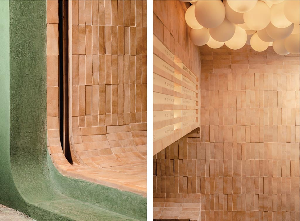 Mother Pearl Hong Kong Bubble Tea Bar designed by A Work of Substance