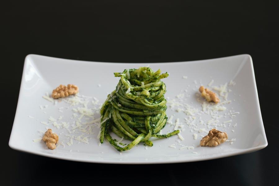 Italian restaurant fine dining dish