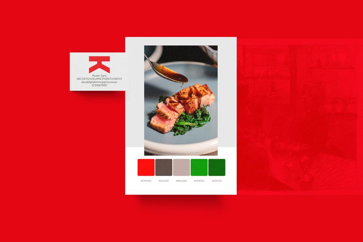 restaurant branding examples