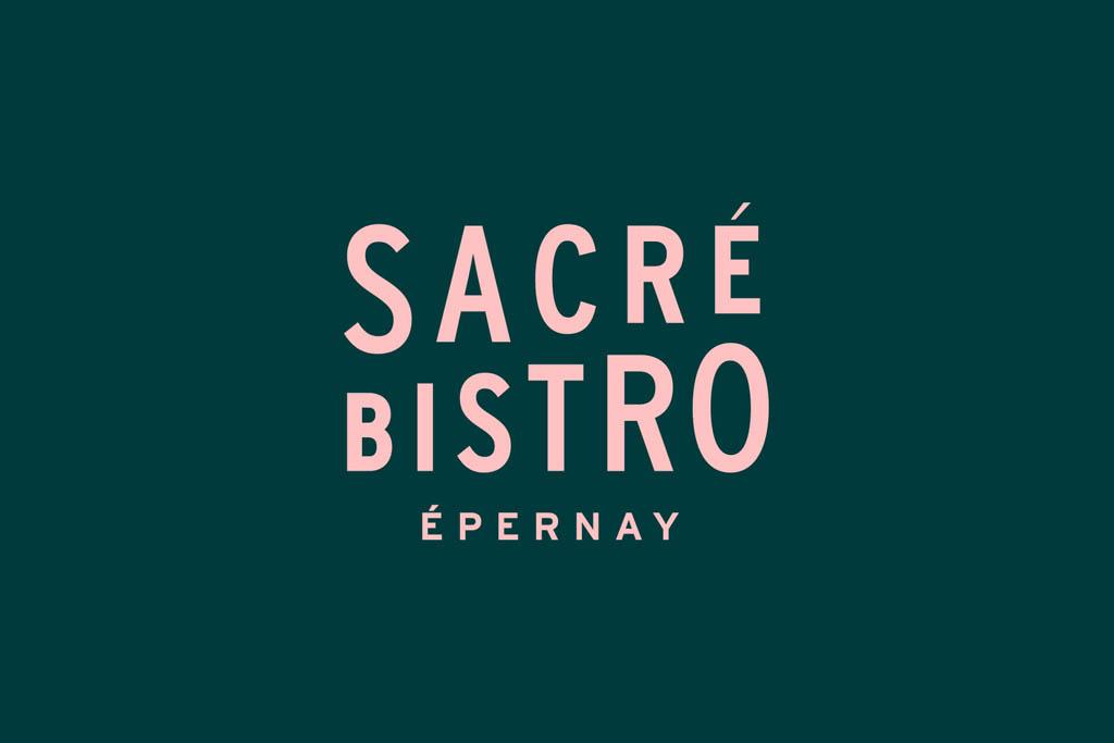 Sacré Bistro - Logo by Studio Plastac