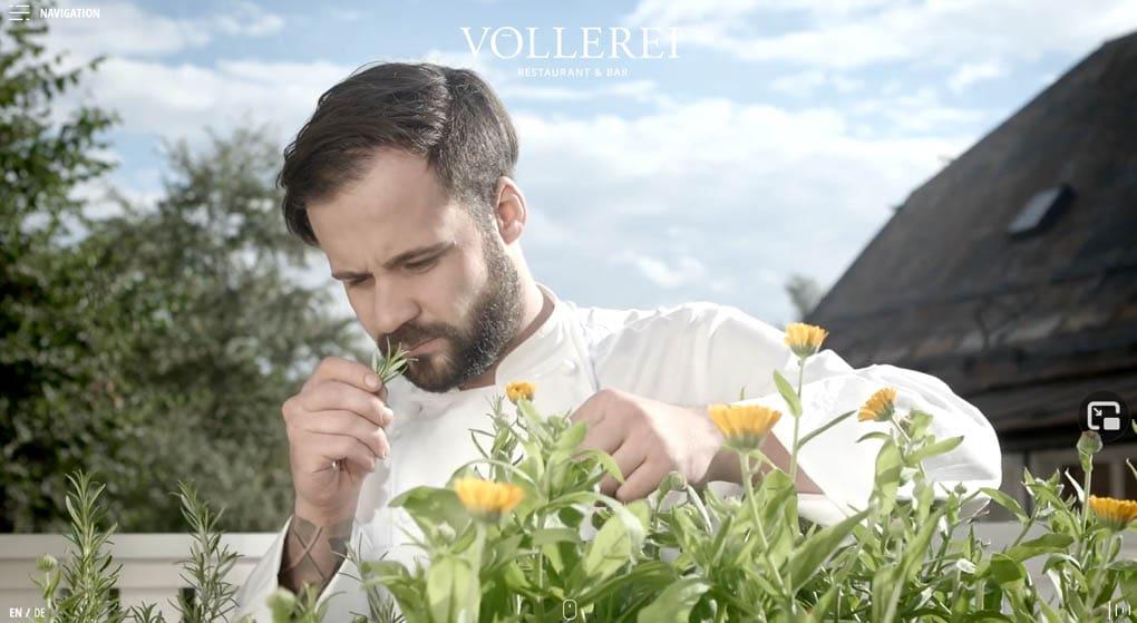 Völlerei Restaurant Website Design